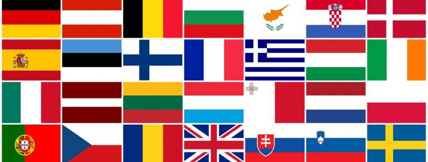 Europe---28-pays---28-drapeaux
