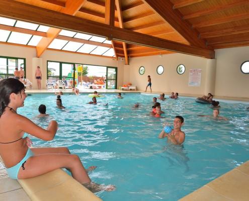 camping 5 étoiles vendée avec piscine couverte