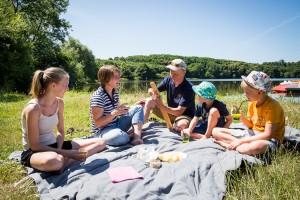 camping activités lac du jaunay