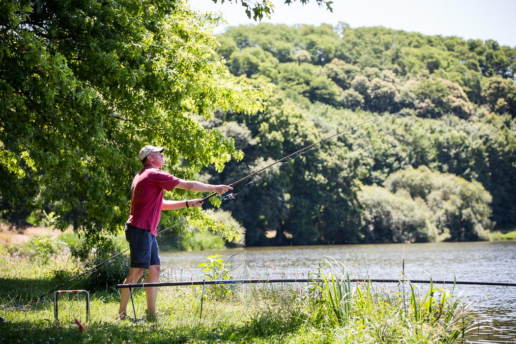 camping 5 étoiles pêche lac du jaunay