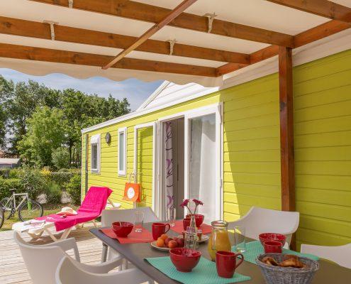 cottage camping 5 étoiles vendée