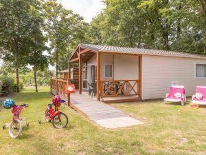 chalet mobil home camping 5 étoiles vendée