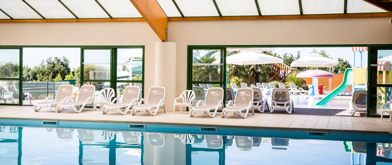 camping avec piscine intérieure chauffée