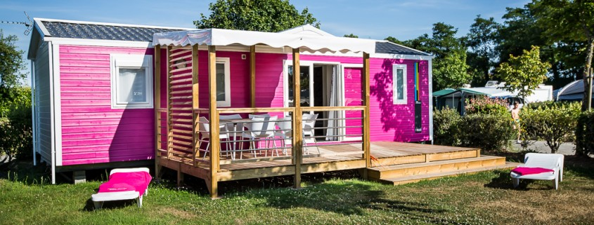 location mobil home camping 5 étoiles vendée