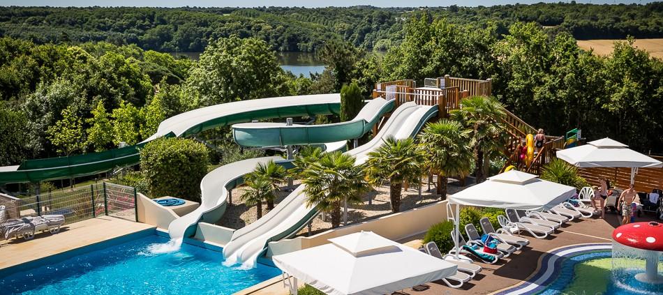 camping piscine chauffée vendée