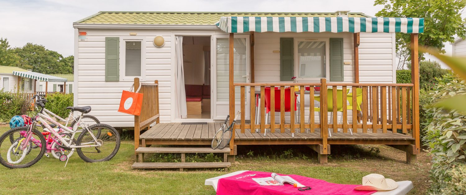 location mobil-home au camping en Vendée