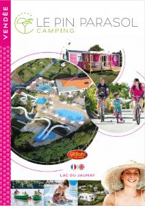brochure camping 5 étoiles le pin parasol