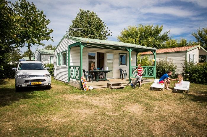 Chalet au camping club Pin Parasol près de Saint Gilles Croix de Vie