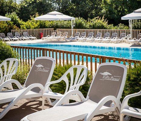piscine au camping de Vendée