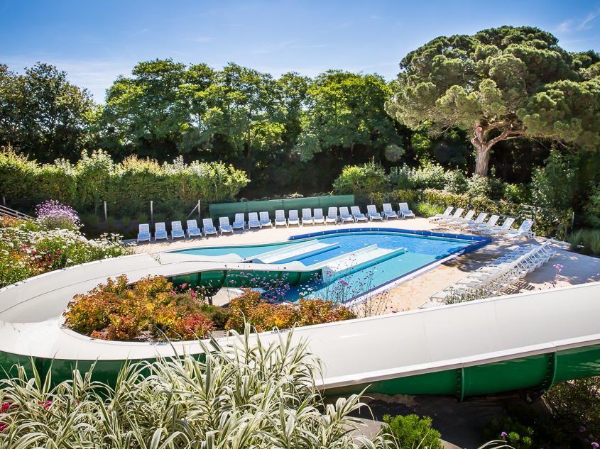 espace aquatique du camping luxe en Vendée