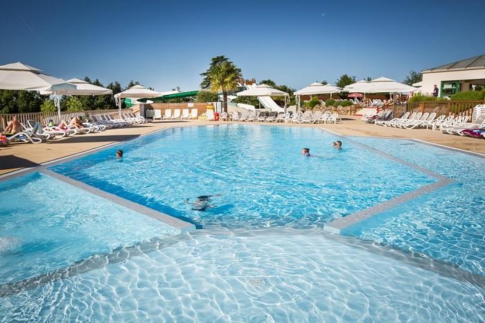 parc aquatique du camping 5 étoiles en Vendée