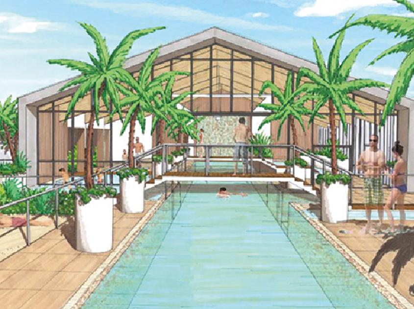 parc aquatique du camping aux Sables d'olonne