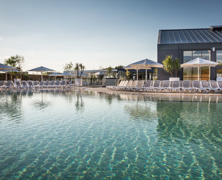 camping avec espace aquatique et lagon en Vendée