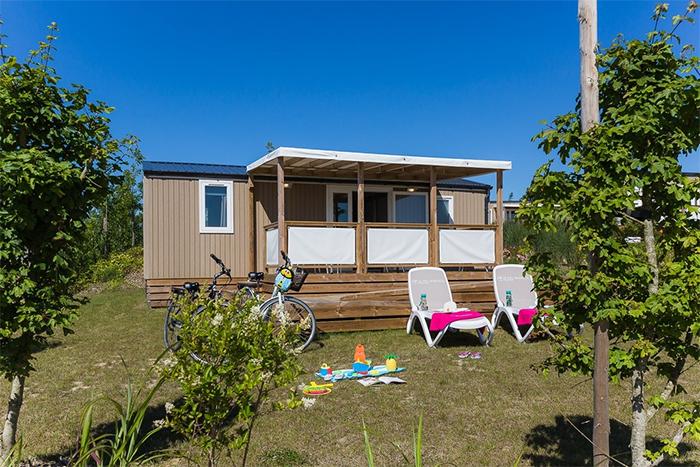 locatif d'un camping de luxe en Vendée