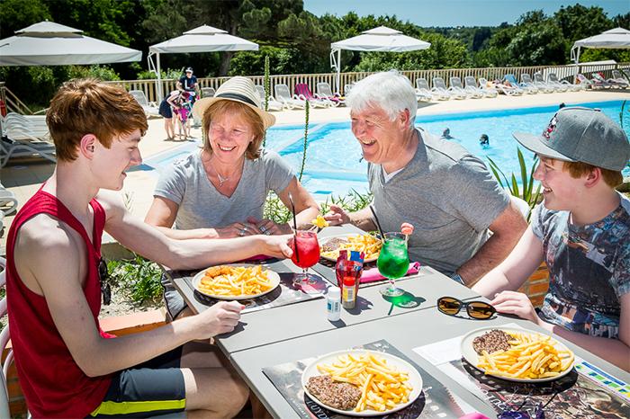 restaurant Vendée camping 5 étoiles