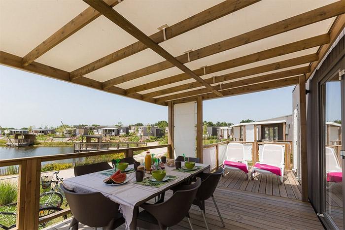 camping avec lagon et parc aquatique Vendée