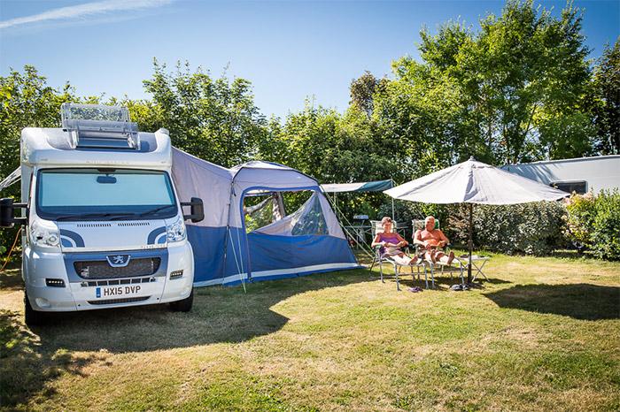camping avec emplacement spacieux en Vendée