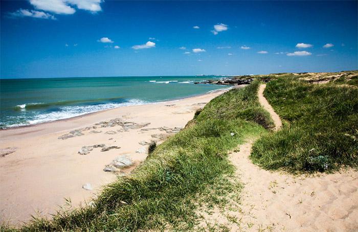 la plage près du camping 5 étoiles en Vendée