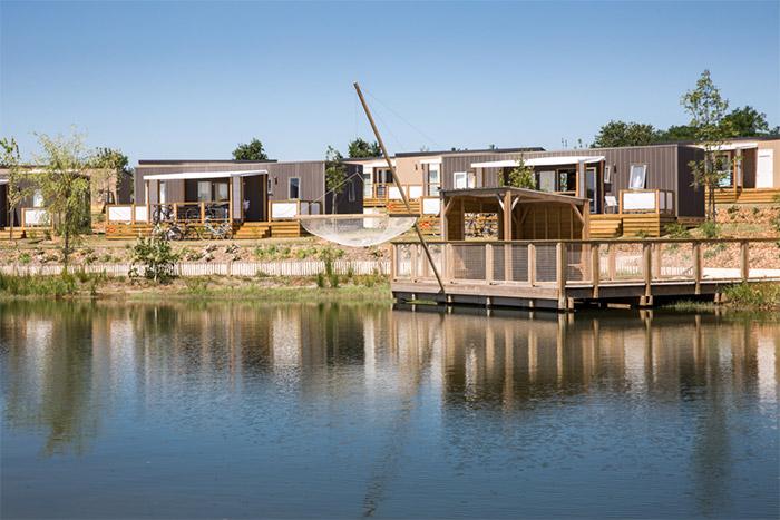 camping  avec parc aquatique et lagon en Vendée